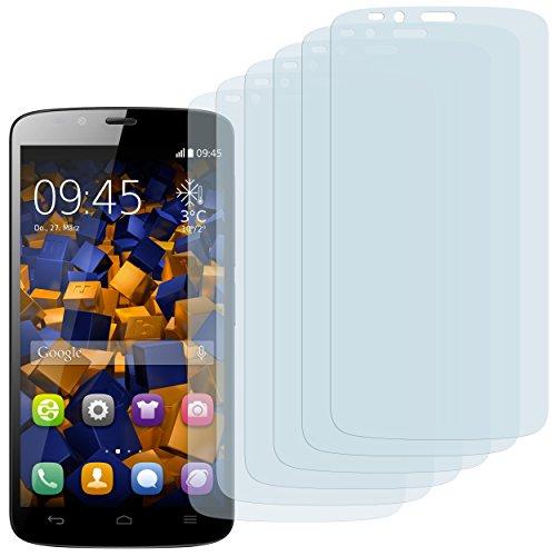 Schutzfolie kompatibel mit Huawei Honor Holly Folie klar, Displayschutzfolie (6X)