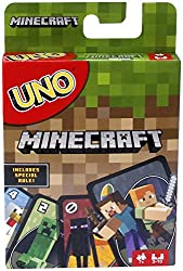 Board Games and Card Games - Uno Minecraft