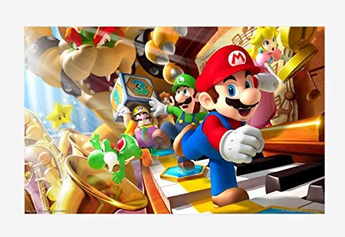 Benutzerdefinierte Große Fototapete Super Mario Wandbild Klassische Spiele Tapete Raumdekor Wandkunst Schlafzimmer Flur Hintergrundwand
