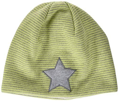 Sterntaler Jungen Slouch-Beanie Mütze, Hellgrün, 43