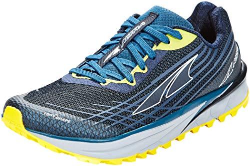 ALTRA Men's AL0A4PE9 TIMP 2 Trail Running Shoe, Moroccan Blue/Yellow - 11.5 M US