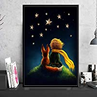 DFGAD The Little Prince Cartoon Full Round Drill 5D Diy Diamond Painting Embroidery Cross Stitch Mosaic Home Decor Gift