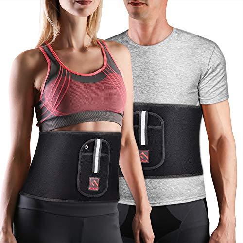 FITINDEX Waist Trimmer Belt Workout Sweat Belt