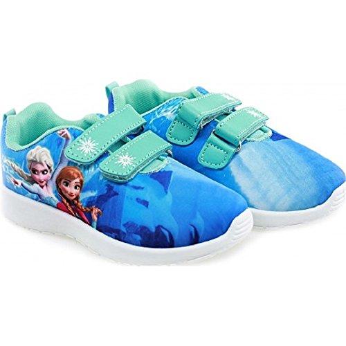 Baskets Mode La Reine Des Neiges Frozen Disney - Différentes Tailles De Dispo - Du 26 au 30 EUR (8,50 au 12 UK) - L'Unité