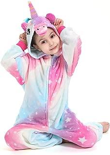 Unicorn Onesie for Kids Halloween Pajamas Unisex Cosplay Partywear Gift One Piece Costume