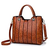 Vegan Leather Purse - Top Handles Women Handbag - Everyday Use