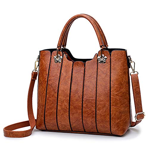 """MAIN USE: Ideal for regular use - Carries travel-size daily essentials like wallet, cellphone, sunglasses and makeup Size: 11.4"""" (L) x 10.24"""" (H) x 4.72"""" (W) - Top-handle drop: 5.12"""" - Shoulder drop: 22"""" FEATURES: 1 main zipper compartment, inner zip..."""
