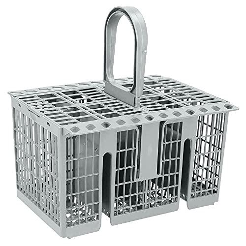 KOPOU Cesta de cubiertos para lavavajillas (1,5 x 1,0 x 1,4 cm) para utensilios compatibles con la mayoría de marcas, cesta de cubiertos de repuesto universal para lavavajillas