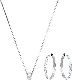 Swarovski 5408456 - Set di gioielli in acciaio INOX