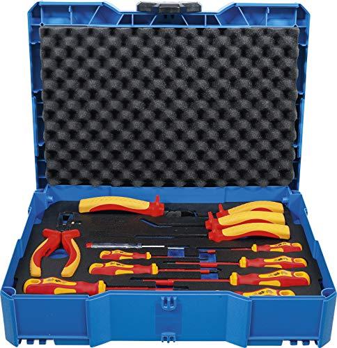 BGS Technic 3355 - Juego de alicates y destornilladores VDE   BGS systainer   13 piezas