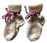 Warme selbstgestrickte Socken für Kinder Größe 19-21 | Handgestrickt | für Mädchen | Babysocken
