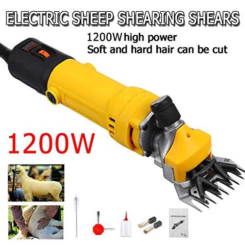 1200W 110V / 220V 6 Gears Speed Electric Sheep Goat Veescheermachine Clipper Farm Shears Cutter Wool Scissor Cut Machine