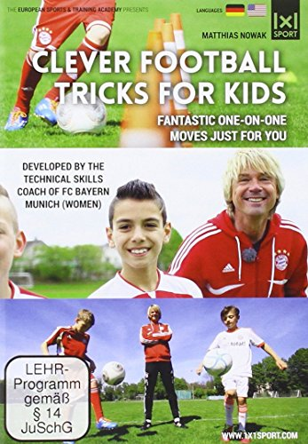 Clever Football Tricks for Kids   Fantastic one-on-one moves just for you...
