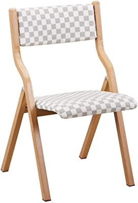 MECO Deluxe silla plegable de acero acolchado, color marrón ...