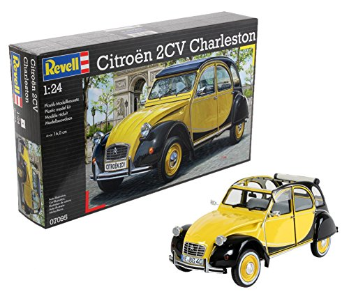 Revell Citroen 2CV Charleston, Multicolor (07095