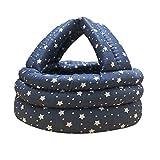 Baby Infant Toddler Adjustable Safety Protective Hat Helmet Head Cushion Bumper Bonnet (Star)