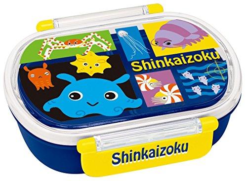 スケーター ランチボックス 360ml 弁当箱 Shinkaizoku シンカイゾク QA2BA