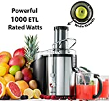 Gourmia GJ1250 Wide Mouth Fruit Centrifugal Juicer - Juice Extractor...