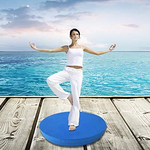 Review Whewer Yoga Balance Pad 1pc TPE Soft Exercise Pad Yoga Knee Pad Non-Slip Balance Workout Trai...