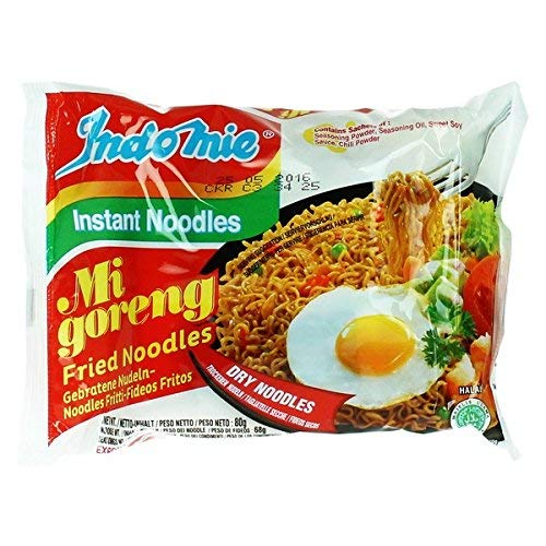 Indomie Mi Goreng Instant Noodles Original - 40 PACKETS