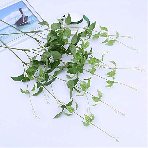 tgbvr Simulation Von Blumenpflanzenwasser Bambusblatt Pflanzenwand Grünpflanzenzubehör