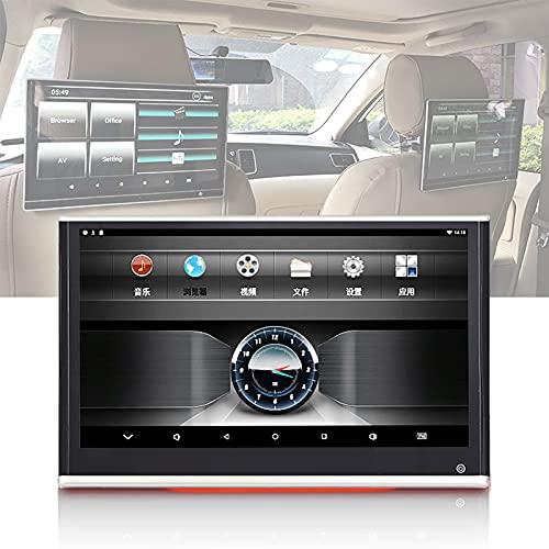 TERMALY Monitor De Reposacabezas para Coche 12.5'IPS Android 9.0 4K HD 1080P Video IPS Pantalla Táctil WiFi BT USB SD HDMI FM MP5 Reproductor De Video