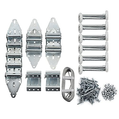 Home Master Hardware Garage Door Hinge & Roller Tune Up Kit Garage Door Hardware Kit for 16 x 7