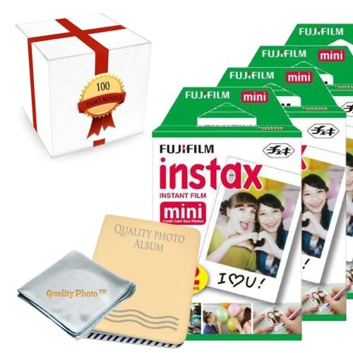 Check Out This Fujifilm INSTAX Mini Instant Film 10 Pack (100 Films) for All fujifilm Mini Instant C...