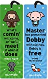 Re-marks Harry Potter Hagrid and Dobby Quotemark Tassel Bookmark (2-Pack)