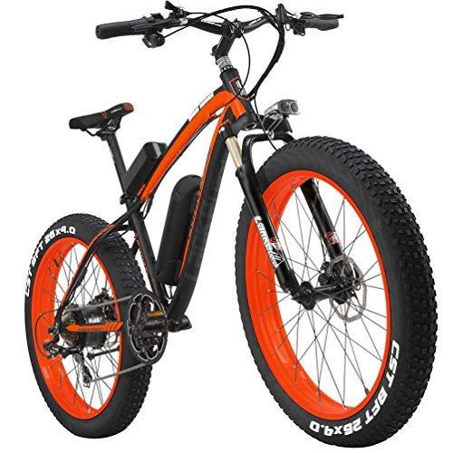 LANKELEISI XF4000 - Bicicleta eléctrica con velocímetro eléctrico (1000 W, 1000 W)