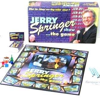 jerry springer games