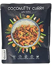 Annabel - Coconutty Curry, condimento per riso, pasto pronto vegano indiano naturale al 100% - 5 x 500 g