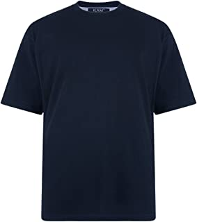 Kam Jeanswear Men's Extra Long Plain T-Shirt