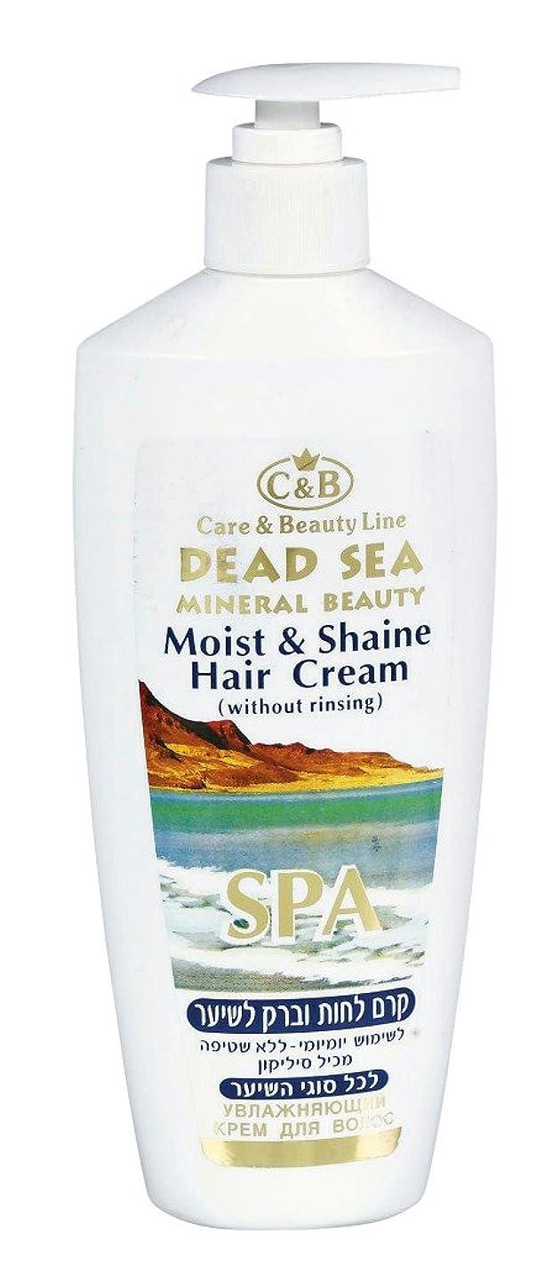 ガラガラモデレータ付録潤いと輝きのヘアクリーム 350mL 死海ミネラル ( Moist & Shine Hair Cream