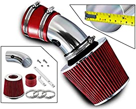 Rtunes Racing Short Ram Air Intake Kit + Filter Combo RED For 98-05 Monte Carlo 3.8L / 00-05 Impala 3.8L