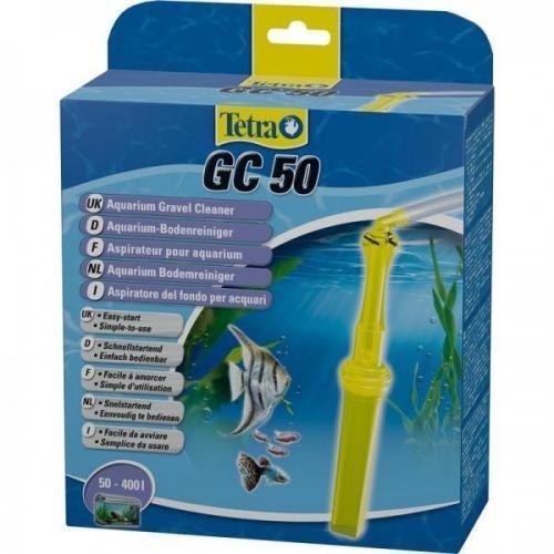 Tetratec Komfort-Bodenreiniger GC 50, Bodengrundreiniger Aquarium, Mulmglocke