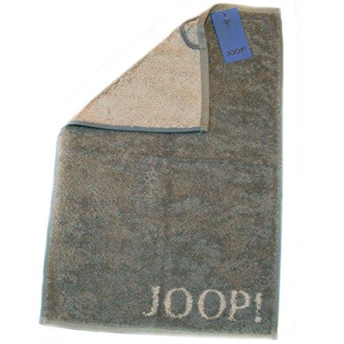 Joop! 1600 Classic Doubleface Gästetuch (30 x 50 cm, Graphit) 3er Set