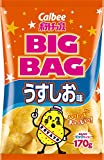 カルビーポテトチップス ビッグバッグ うすしお味 袋170g