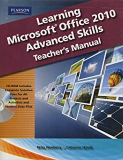 learning microsoft office 2010 advanced skills