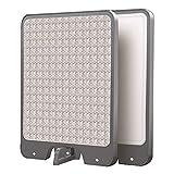 MNSSRN Tabla de Cortar de Acero Inoxidable Multifuncional, Tabla de Cortar Independiente sin Deslizamiento doméstico de Baja Ruido, Utilizado para el Tablero de Queso,17.1 * 12in(43.5 * 30.5cm)