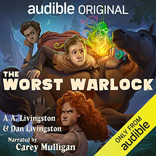 The Worst Warlock Audiobook By A.A. Livingston,                                                                                        Dan Livingston cover art