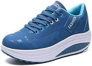 Unparalleled beauty Women Breathable Tennis Shoes, Lady Flat Fashion Sneakers Platform Casual Shoes
