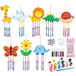 vamei Craft Kit for Kids Wind Chimes for Garden Wood Art and Craft for Kids Wind Chimes Outdoor Wooden Wind Chimes…