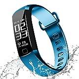 Blood Pressure Bracelet Fitness Tracker - Newyes R8 Smart Watch with SPO2H Heart