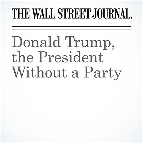 Donald Trump, the President Without a Party copertina