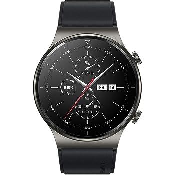 """HUAWEI Watch GT 2 Pro - Smartwatch con Pantalla AMOLED de 1.39"""", hasta Dos semanas de batería, Negro, 46 mm"""