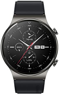 "HUAWEI WATCH GT 2 Pro Smartwatch, 1.39"" AMOLED HD Touchscreen, 2-Week Battery Life, GPS and GLONASS, SpO2, 100+ Workout Mo..."