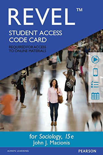REVEL for Sociology -- Access Card (15th Edition)