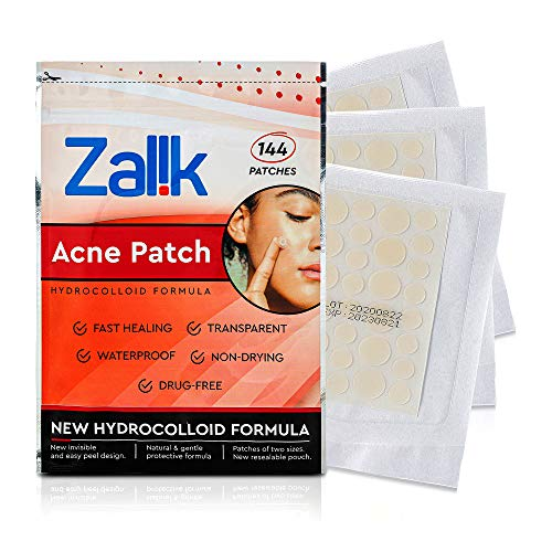 144 Count Acne Pimple Patches, Absorbing Hydrocolloid Spot Treatment, Quick & Easy Healing, Deep Cleansing for face, Acne Dots, Pimple Stickers, 100% All Natural Acne Patches and Pimple Patches