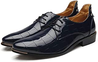 LUKEEXIN Leather Shoes Men's Business Dress Shoes Men's Shoes